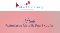 Puderfarbe Metallic Pearl kupfer 25 gr