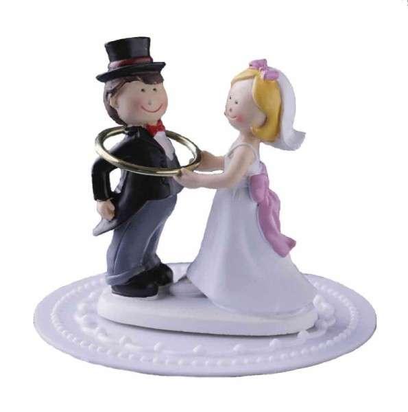 Brautpaar mit Ring