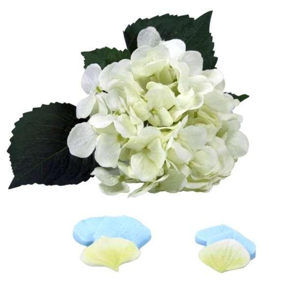"""Veiner """"Hortensie Blütenblatt"""" Set L+M ca.4 und 4,8 cm ( Hydrangea Set Petals L+M)"""