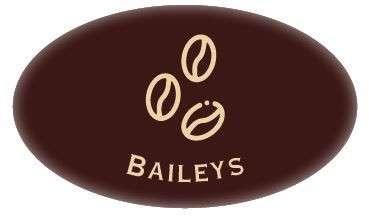 Tortendekoration Schokoladenaufleger Baileys