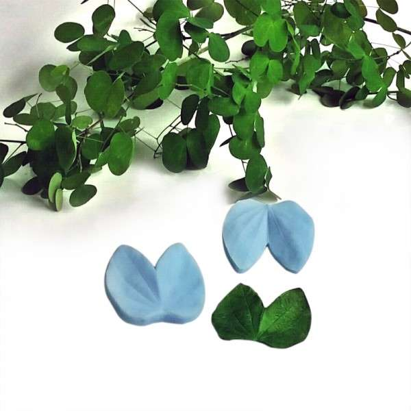 "Veiner ""Orchideenbaum Blatt M"" ca. 6 x 6,5 cm ( Orchid tree, leaf M)"