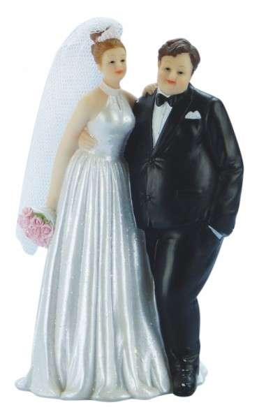 Brautpaar Kräftiger Mann