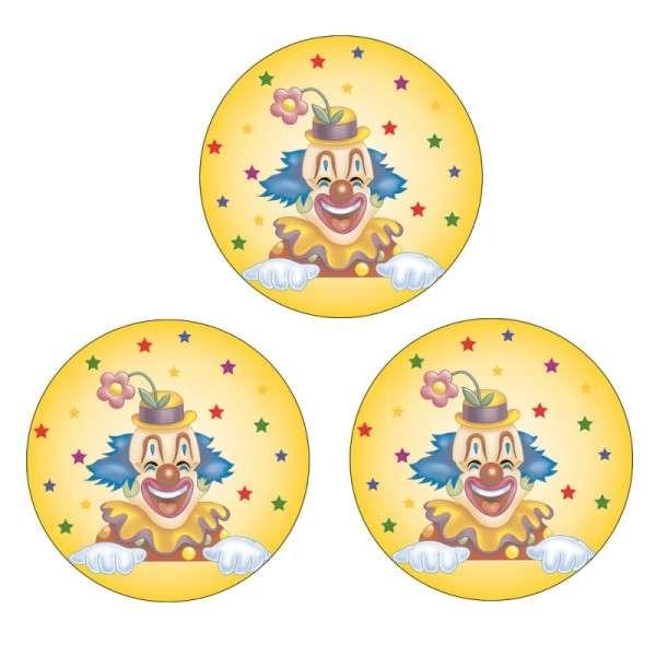 "Zuckeraufleger 4 cm ""Clown"""