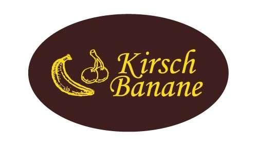 Tortendekoration Schokoladenaufleger Kirsch Banane