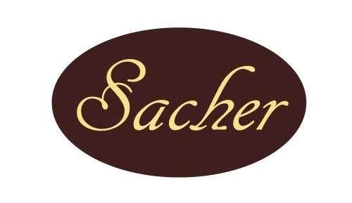 Tortendekoration Schokoladenaufleger Sacher