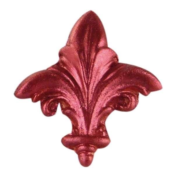 Puderfarbe Metallic Pearl rubinrot 25 gr