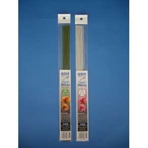 Blumendraht grün Stärke 22g 50 Stück Länge 36 cm