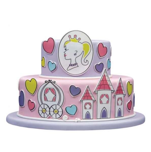 Kuchen Tattoo Prinzessin Fondant Tortendeko