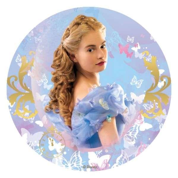 Cinderella -Film - Esspapieraufleger 20cm 12Stück