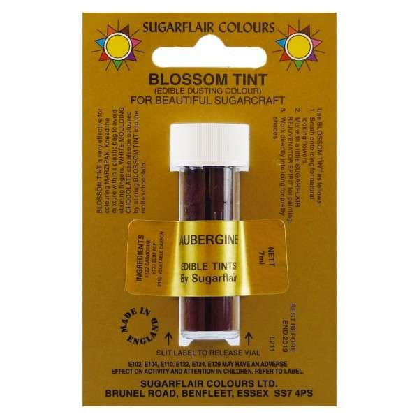 Blossom Tint-Blütenfarbe Aubergine-Aubergine Puderfarbe 7g