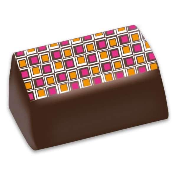 Praline Pinke Quadrate