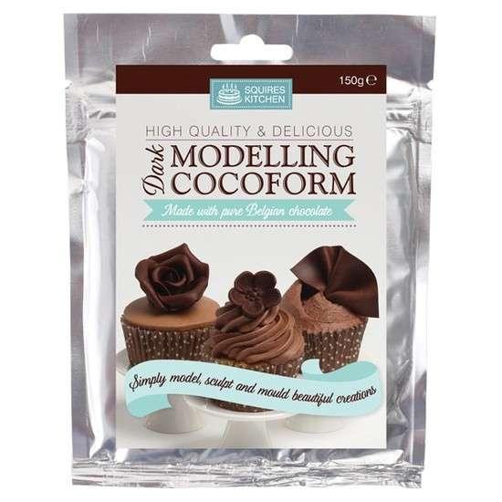 Modelliermasse mit dunkler Schokolade, 150g (Squires Kitchen)