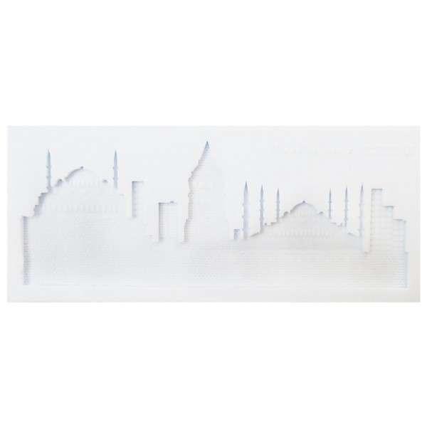 Silikonform Skyline Istanbul 21,3 x 9,1 x 1cm