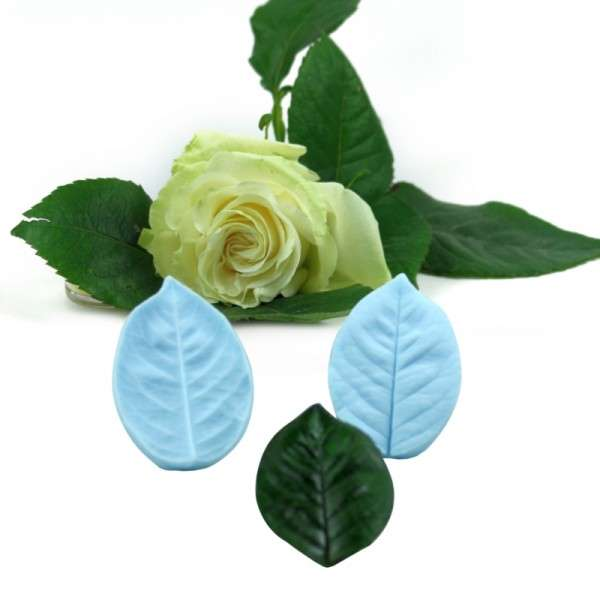 "Veiner ""Rose"" Blatt L ca.9cm ( Rose Leaf L)"