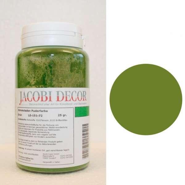 Puderfarbe grün 25g fettlöslich