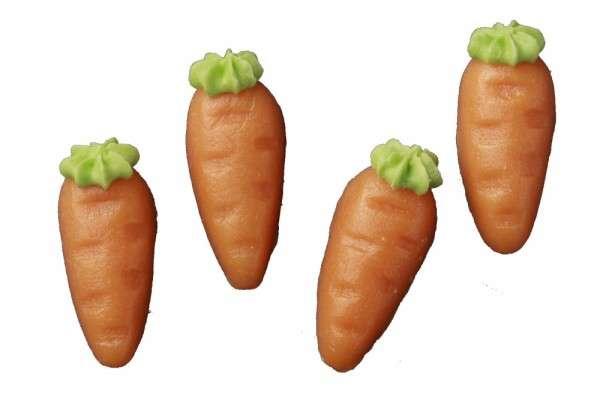 Karotten-Rübli groß Marzipan 38 mm 400 Stck