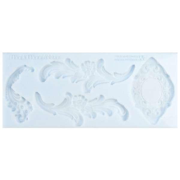 Silikonform Ranken ca. 20,1 x 8,5 x 0,7 cm