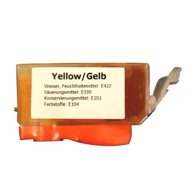 Lebensmittelfarbe für Fototorte CLI-8 Y