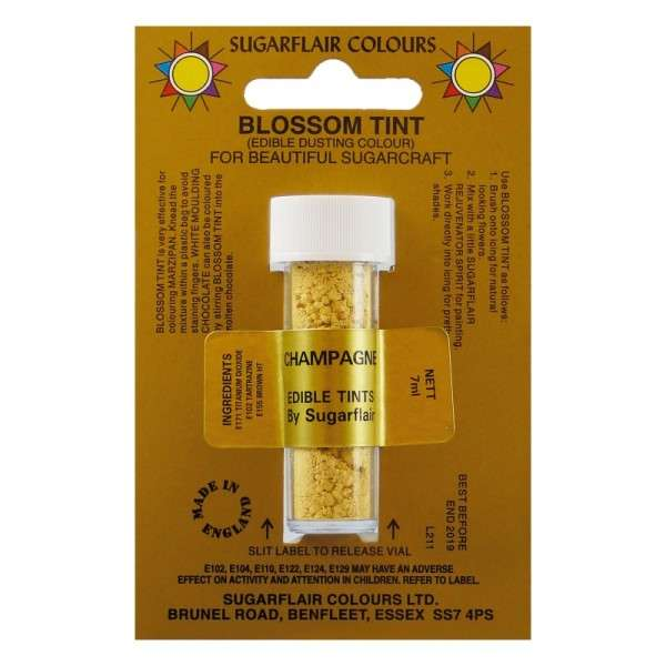 Blossom Tint-Blütenfarbe Champagne-Champagner Puderfarbe 7g