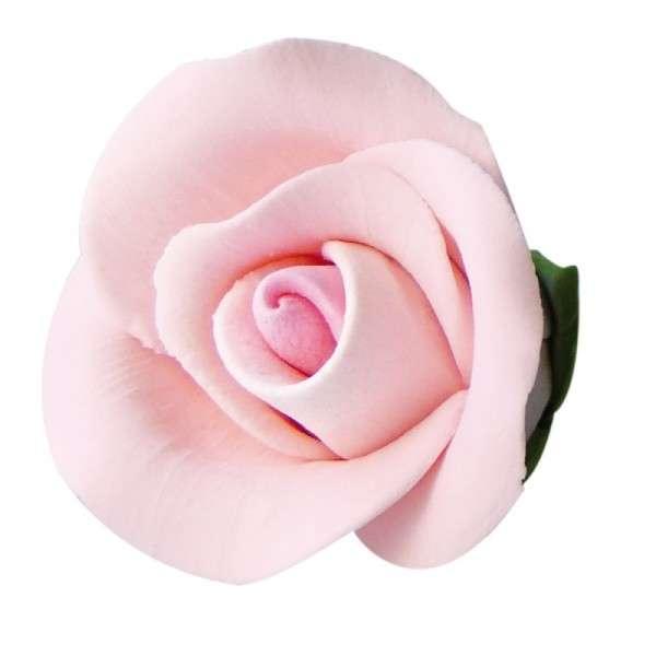 Feinzuckerrosen rosa groß 50mm 28 Stck