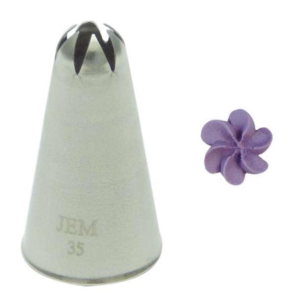 Geschlossene Stern oder Blütentülle Nr.NZ35 JEM