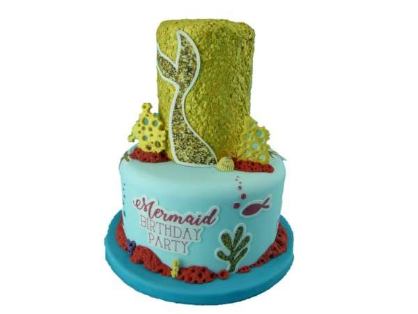 Kuchen Tattoo Mermaid Meerjungfrau