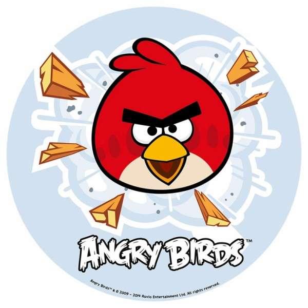 Angry Birds - Esspapieraufleger 20cm 12Stück