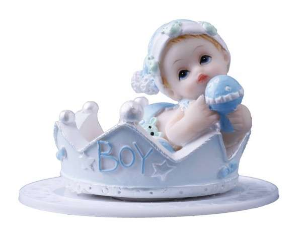Baby in Krone Junge