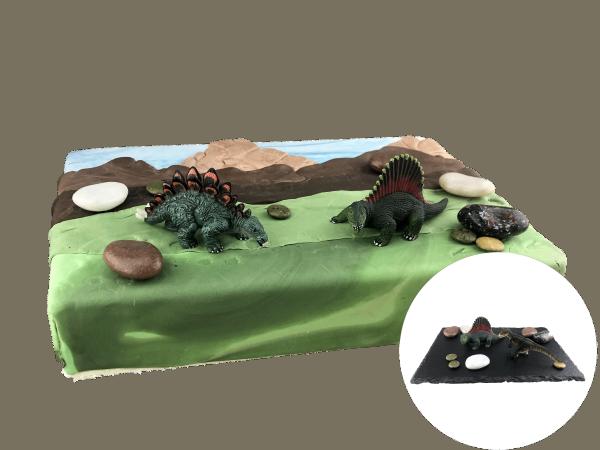 Tortendekoration Dinosaurier