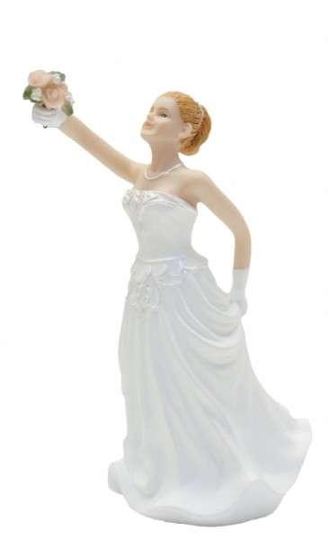 Hochzeitsfiguren Braut blod