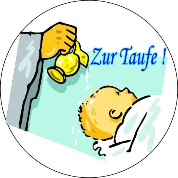 """Zuckeraufleger 10 cm """"Zur Taufe- Junge"""" SB-1-700009"""