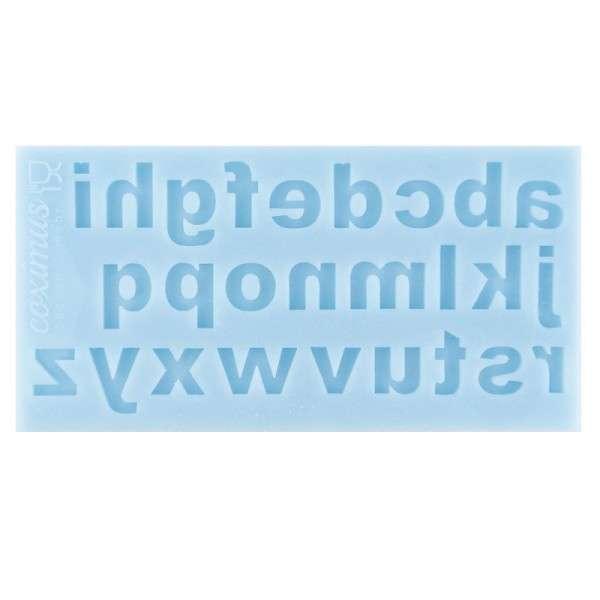 Silikonform Klein-Buchstaben Standard Buchstabengröße ca .2 cm