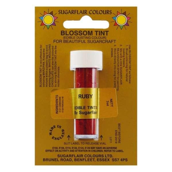 Blossom Tint-Blütenfarbe Ruby-Rubinrot Puderfarbe 7g