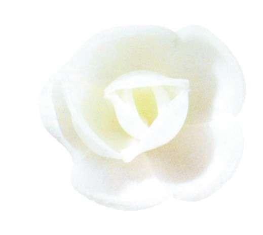 Esspapier Rose mittel weiss 40mm 72 Stck