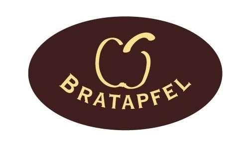 Tortendekoration Schokoladenaufleger Bratapfel