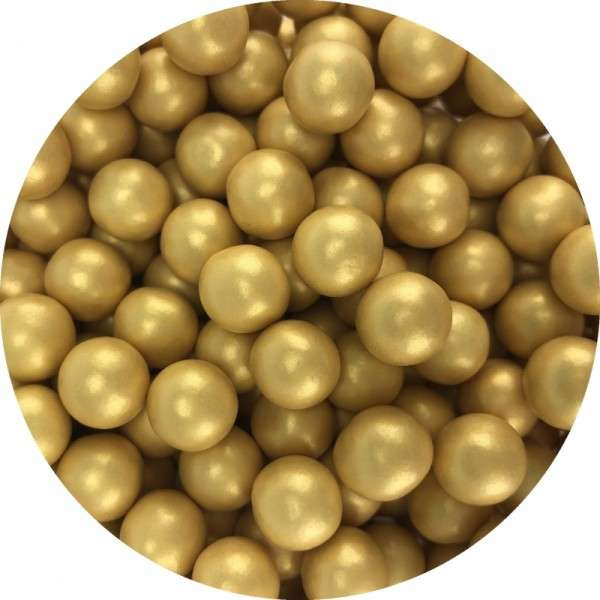 Chocoballs pearl Gold 850g