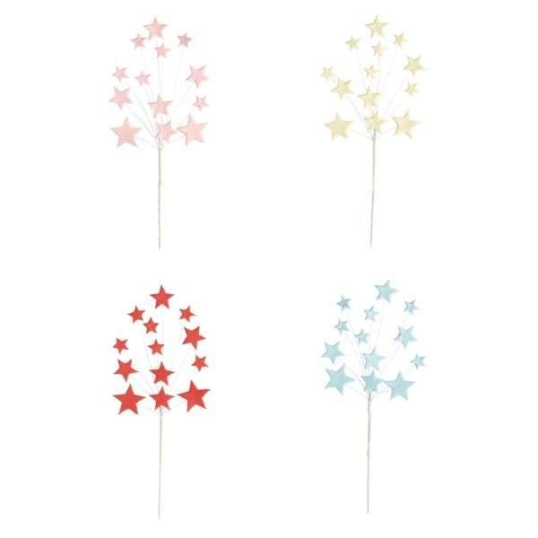 Zuckerdekoration Sterne