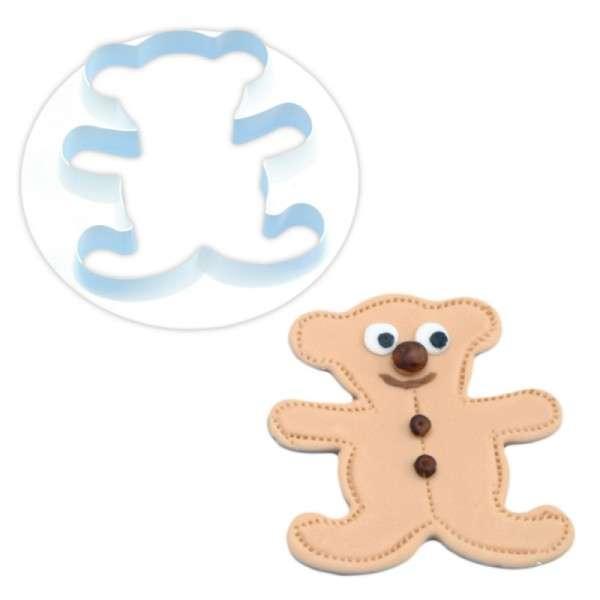 Ausstecher Teddybär