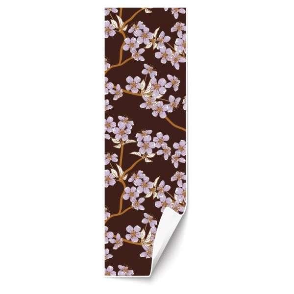 Schokoladendekoration Apfelblüte