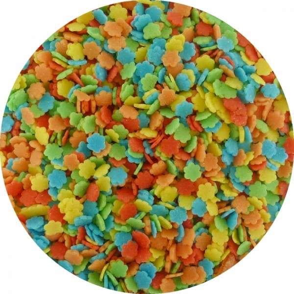 Zuckerkonfetti Blümchen Bunt 2000g