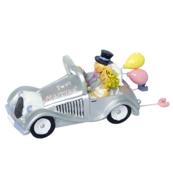 Hochzeitsauto Keramik