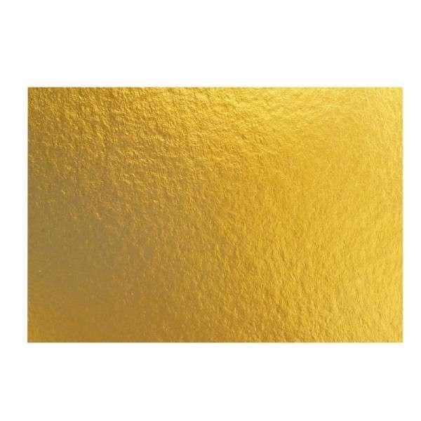 Goldpappen 3 mm, rechteckig 31x45 cm, 25 Stück
