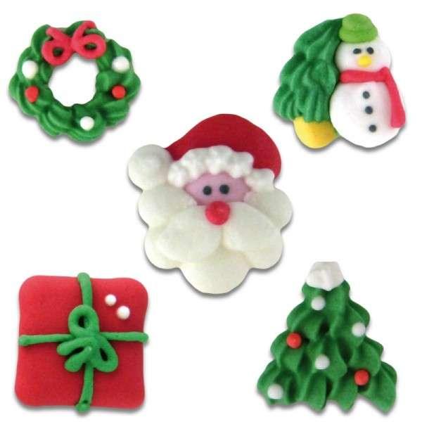 Zuckerdekoration Weihnachten