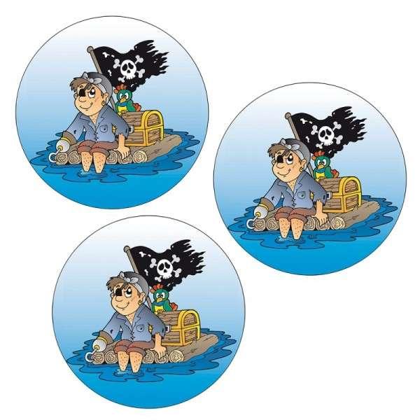 Esspapieraufleger Pirat lustig 4cm 1000Stück