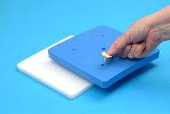 Schaumpolster/Foam Pad zum Modellieren von Blüten und Blättern