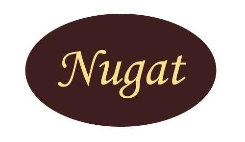 Tortendekoration Schokoladenaufleger Nugat