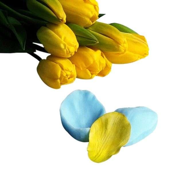 """Veiner """"Tulpe Blütenblatt"""" ca. 8 x 5 cm ( tulip,petal)"""