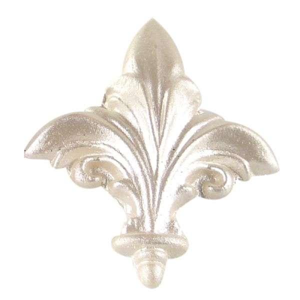 Puderfarbe Metallic Pearl glitzer silber 25 gr