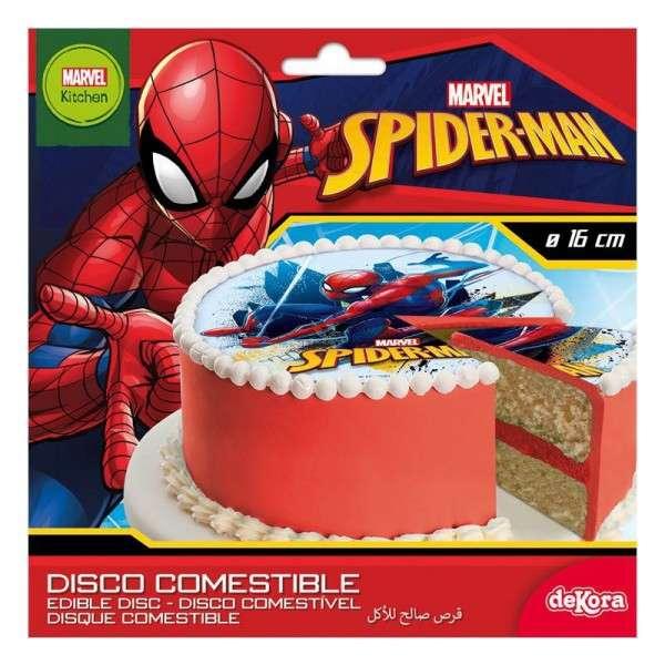 Spiderman Tortenaufleger