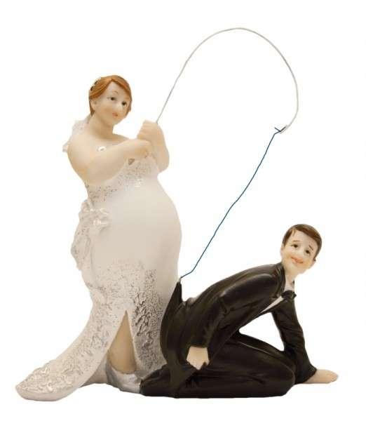 """Brautpaar mollig """"An der Angel"""""""